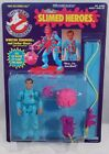 """The Real"" Ghostbusters Slimed Heroes - Winston Zeddmore (MOC) C9 Punched Kenner"