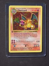 Pokemon 1ST EDITION CHARIZARD 4/102 Base Set Holo Shadowless