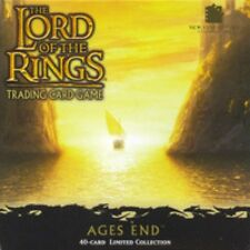 LOTR Lord of the Rings AGES END SET FACTORY SEALED!!