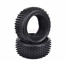 2PCS 85*35mm RC 1:10 Off-Road Buggy Car Front Foam Rubber Tyre Tires 06009 7009F