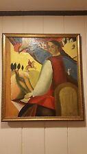 Humeniuk Feodosiy (Феодосій Гуменюк) B 1941 OIL ON CANVAS. Ukrainian artist.