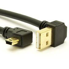 USB 2.0 Angle A to Angle Mini-B cable