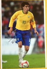 Kaka Brazil Brasil signed 12x8 photo B  UACC AFTAL Registered dealer COA