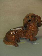+# A015822_04 Goebel Archiv Plombe Hund Dackel Sausage Dog Dachshund 30-058