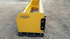 SNOW PUSHER PULLBACK box blade plow skid steer bobcat 8 ft BEST VALUE GUARANTEED