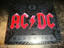 AC/DC cd BLACK ICE red lettering free US shipping