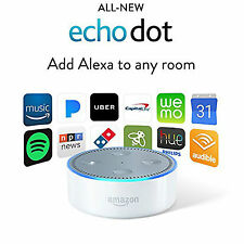 Amazon Echo DOT White 2nd Generation add Alexa Voice to Room  NEW SEALED Pack