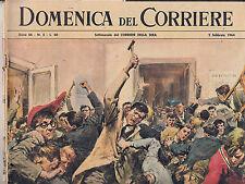 M7  DOMENICA DEL CORRIERE N. 5 ANNO 66 DEL 2 FEBBRAIO 1964