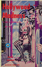 Vintage Sleaze PB Paperback - Hollywood Madness Bill Ward 1967 - Unique Lesbian