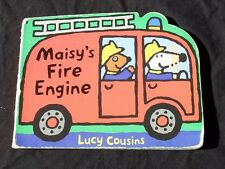 """Lucy Cousins """"Maisy's Fire Engine"""" Children's Story Book"""