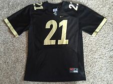 Vtg PURDUE BOILERMAKERS Football NIKE Jersey #21 NCAA Throwback Youth Boys sz M