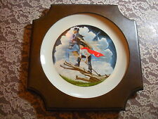 """Patriots Of The American Bicentennial Collector Plate - Robert Charles Howe"