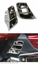 ADD-ON 45-1898 CHROME SADDLEBAG SCUFF COVER INSERTS GL1800 GOLDWING 2012-2016