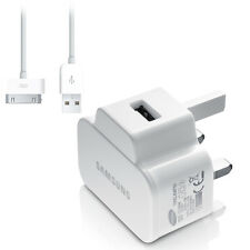 GENUINE SAMSUNG GALAXY TAB 2 / 10.1 / NOTE 10.1 / USB MAINS WALL CHARGER