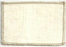 Gorgeous Velvet! Heavy Duty Upholstery Fabric Umbria Ivory 3Y Min Purch Req