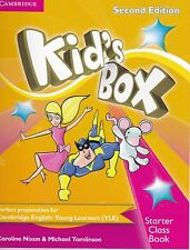 Cambridge KID'S BOX STARTER 2nd Edition Class / Pupil's Book with CD-ROM @NEW@