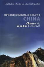 Confronting Discrimination and Inequality in China: Chinese and Canadian Perspec