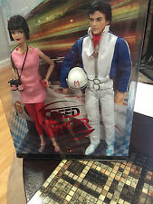 GO SPEED RACER GO BARBIE AND KEN GIFTSET MODEL MUSE DOLLS MINT NRFB DATED 2007
