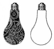 New Artistic Stamper Unmounted Stamp Lightbulbs
