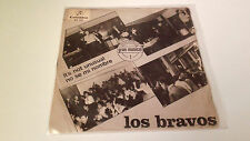 "LOS BRAVOS ""IT'S NOT UNUSUAL"" 7"" SPANISH SINGLE A/A 1966 ME 253"