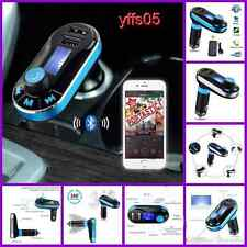 Bluetooth Car MP3 Player Handsfree FM Transmitter Dual USB Aux Wireless Remote