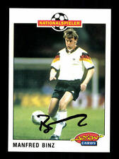 Manfred Binz DFB Panini Action Card 1992-93 TOP +A 116733 D