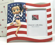 Betty Boop -  Picture Frame - Flag - New in original box