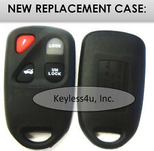 replacement case shell button pad - Model 41848 keyless entry remote keyfob fob