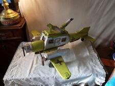 Avion allemand 2 ème guerre mondiale en bois fabrication maison