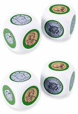 Cubes – 4 coin cubes, two pairs of heads and tails, 6 coins each cube X0063
