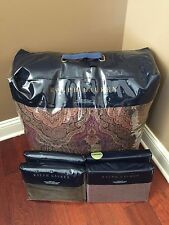 Ralph Lauren 5-pc Westport QUEEN Comforter & Pillow Shams Paisley Bedding Set