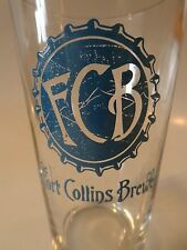 BEER PINT GLASS    FORT COLLINS Brewery ~ COLORADO ** 100s More Glasses in STORE