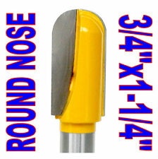 "1pc 1/2"" Shank 3/4"" Dia 1-1/4"" Long Ball Round Nose Router Bit  sct-888"
