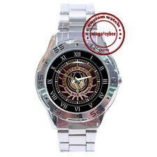NEW Battlestar Glactical BSG 75 CUSTOM CHROME MEN WRIST WATCH