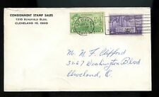 US Stamp Dealer Advertising Cover (Consignment Stamp Sales) 1959 Cleveland, Ohio
