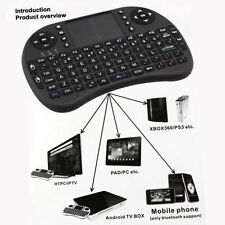 Mini 2.4G Wireless Fly Air Keyboard Mouse Touchpad For Smart TV Xbox PC Android#