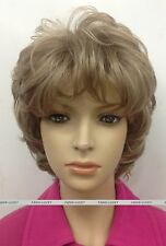 Blonde Mixed short Curly Women Ladies Daily Natural Fluffy Wig FTLD149