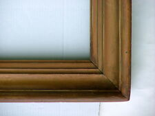 "FRAME LARGE 19th C. VINTAGE AMERICAN HUDSON RIVER SOLID WOOD COVE FITS 42"" x 32"""