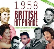 NEW 1958 British Hit Parade, Pt. 1: January-June CD (CD) Free P&H