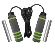 Phoenix Fitness RY916 Skipping Rope Including 2 x 200g Removable Weights - New