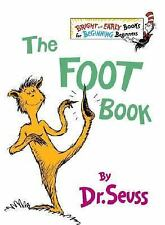 Bright and Early Books: The Foot Book by Dr. Seuss (1968, Hardcover)