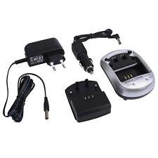 Ladegerät + KFZ Ladekabel für Panasonic Lumix DMC-ZX3