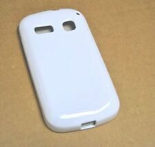 CUSTODIA COVER per ALCATEL ONE TOUCH POP C3 OT4033D SILICONE BACK CASE BIANCA