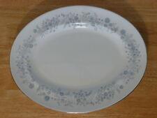 """Wedgwood Bone China Belle Fleur Design 13 3/4"""" Oval Serving Platter"""
