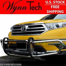 WynnTech Front Runner Full Bumper Guard Stainless Steel 11-13 Toyota Highlander