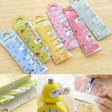 Cute Bowknot Animal Design Removable Adhesive Paper Sticky Notes Footnote