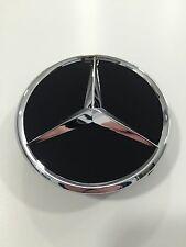 Mercedes-Benz Radnabenabdeckung für Alufelgen in SCHWARZ mit Stern in Chrom