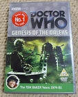 DR DOCTOR WHO - GENESIS OF THE DALEKS - TOM BAKER YEARS - BBC DVD - 2 DISC SET