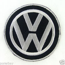 VOLKSWAGEN VW Logo Embroidered Iron On Patch #PVW042