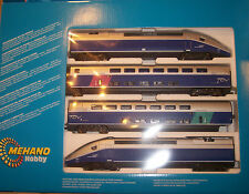 HO  IHC   MEHANO NEW T-688  AC W/LIGHTED INTERIORS DCC READY HIGH SPEED TRAINS